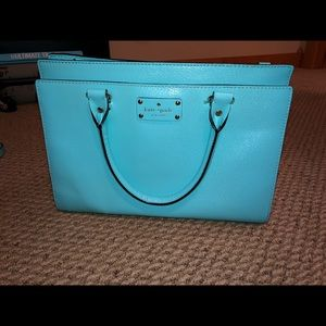 Light blue Kate spade purse in good condition